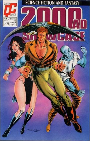 2000 A.D. Showcase (1988) 27/28-A by Quality Comics