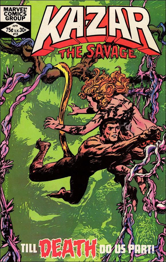 Ka-Zar the Savage 13-A by Marvel