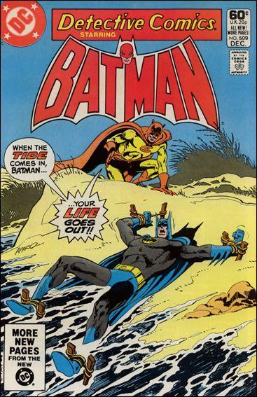 Detective Comics (1937) 509-A by DC