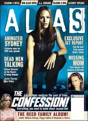 Alias: The Official Magazine 6-A