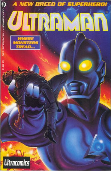 Ultraman (1993) 2-B by Harvey