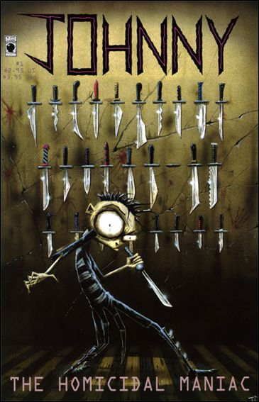Johnny the Homicidal Maniac  1-B by Slave Labor Graphics (SLG) Publishing