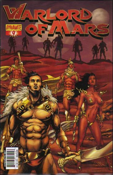 Warlord of Mars 9-C by Dynamite Entertainment