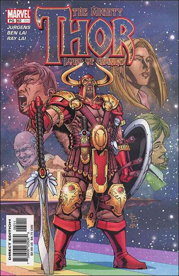 Thor (1998) 62-A by Marvel