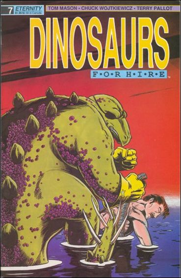 Dinosaurs for Hire (1988) 7-A by Eternity