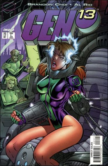 Gen13 (1995) 23-A by WildStorm