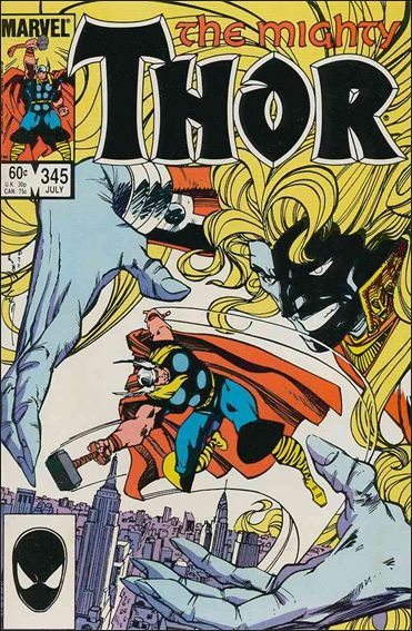 Thor (1966) 345-A by Marvel
