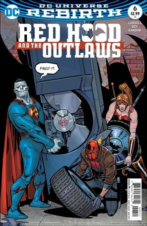 Red Hood and the Outlaws (2016) 6-A