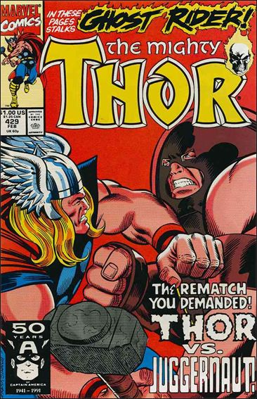 Thor (1966) 429-A by Marvel