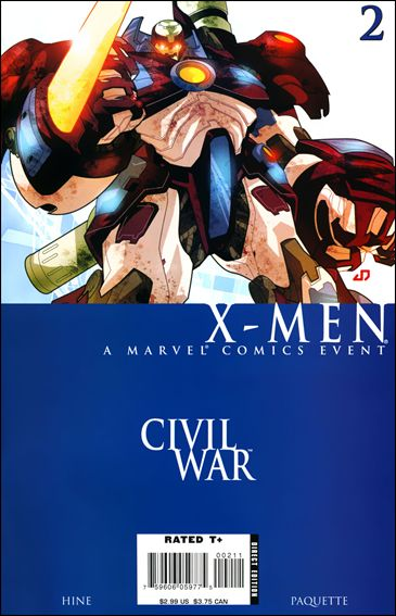 Civil War: X-Men 2-A by Marvel