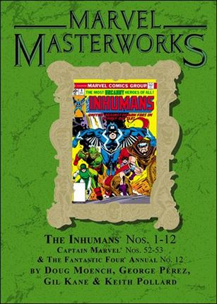 Marvel Masterworks: The Inhumans 2-B