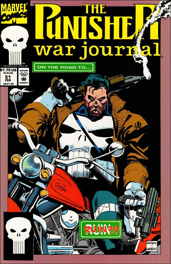 Punisher War Journal (1988) 51-A by Marvel