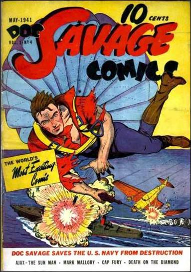 Doc Savage Comics (1940) 4-A by Street and Smith Publications