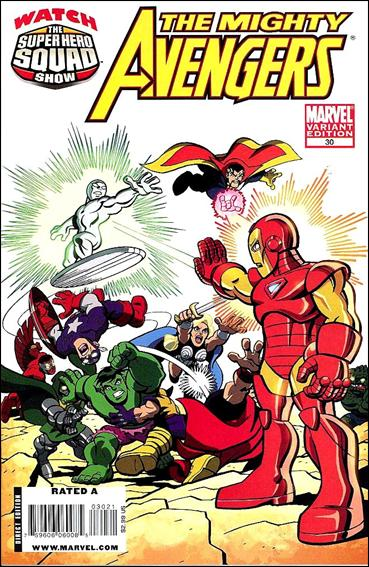 Mighty Avengers 30-B by Marvel