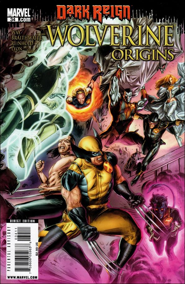 Wolverine: Origins 34-A by Marvel