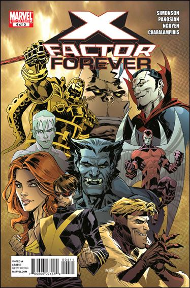 X-Factor Forever 4-A by Marvel