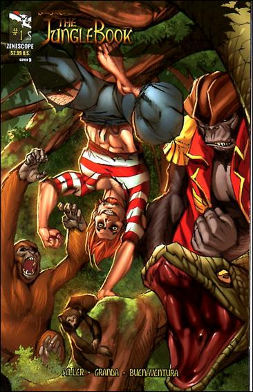 Grimm Fairy Tales Presents The Jungle Book 1-D by Zenescope Entertainment