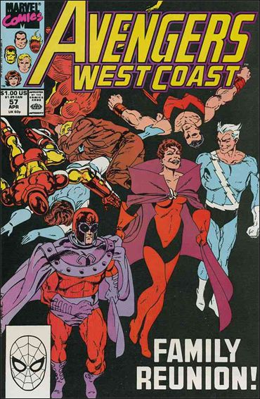 Avengers West Coast 57-A by Marvel