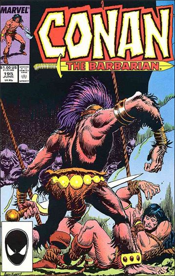 Conan the Barbarian (1970) 195-A by Marvel