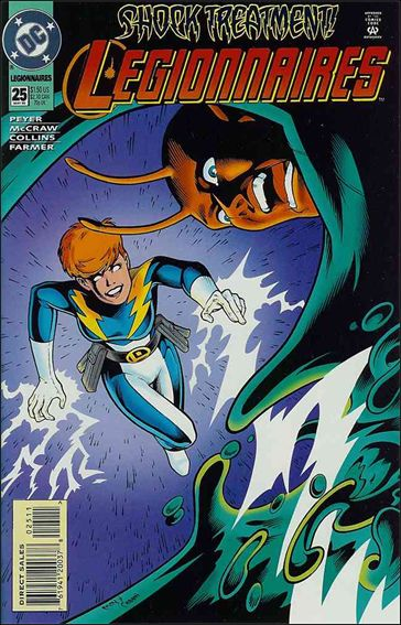 Legionnaires 25-A by DC
