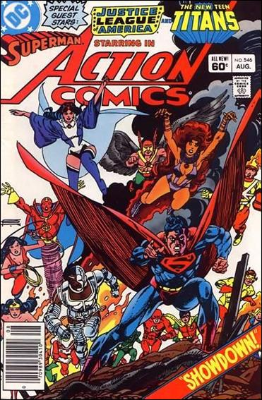 Action Comics (1938) 546-A by DC