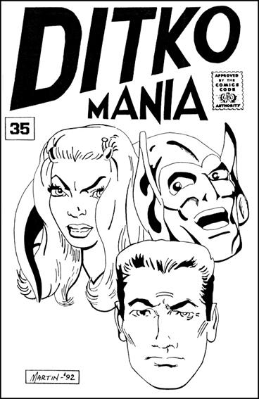 Ditkomania 35-A by Bill Hall & Rob Imes
