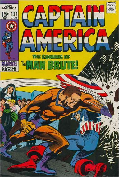 Captain America (1968) 121-A by Marvel