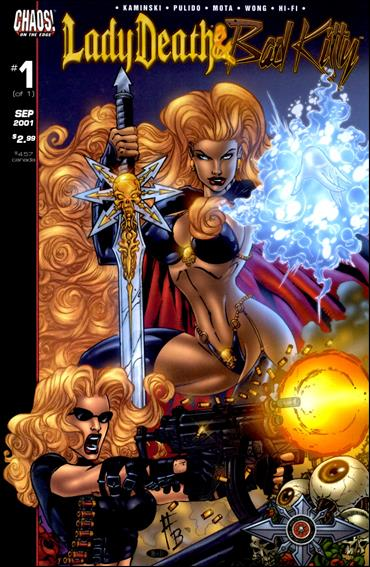 Lady Death/Bad Kitty 1-A by Chaos! Comics