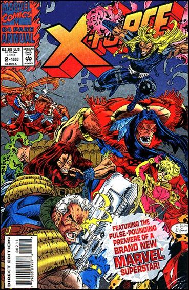 X-Force Annual 2-B by Marvel