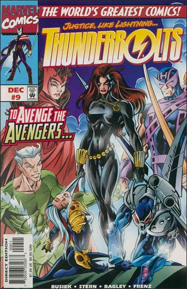 Thunderbolts (1997) 9-A by Marvel