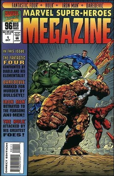 Marvel Super-Heroes Megazine 1-A by Marvel