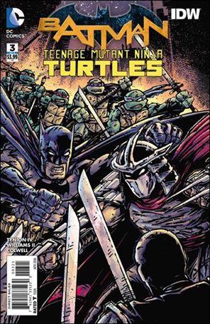 Batman/Teenage Mutant Ninja Turtles 3-B
