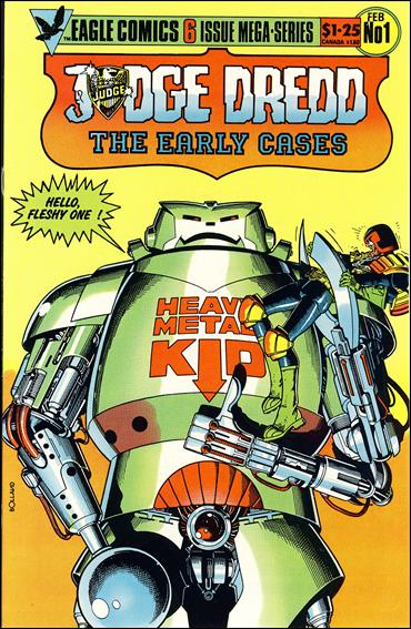 Judge Dredd: The Early Cases 1-A by Eagle Comics