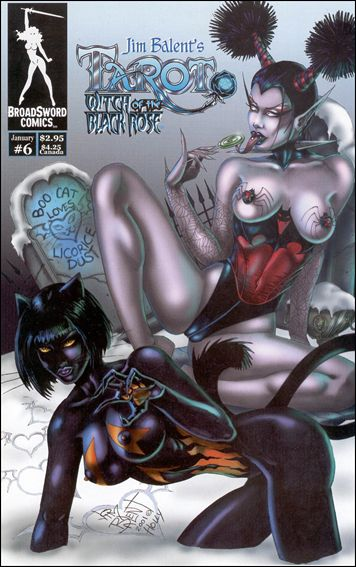 Tarot: Witch of the Black Rose 6-B by BroadSword Comics