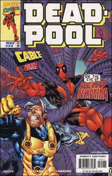 Deadpool (1997) 22-A by Marvel