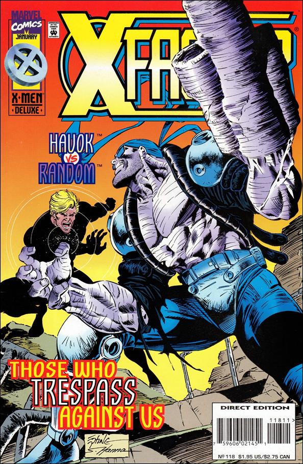 X-Factor (1986) 118-A by Marvel