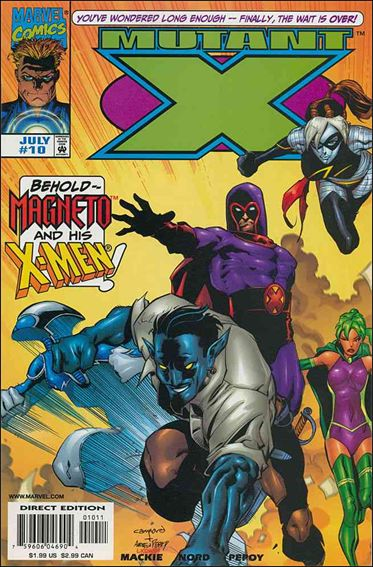 Mutant X 10-A by Marvel