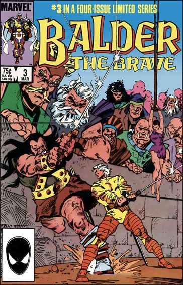 Balder the Brave 3-A by Marvel