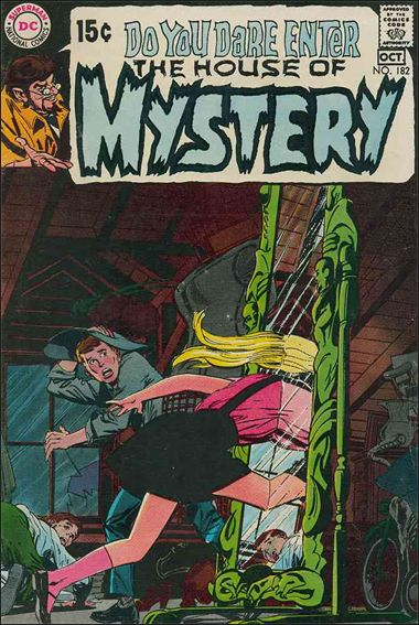 House of Mystery (1951) 182-A by DC