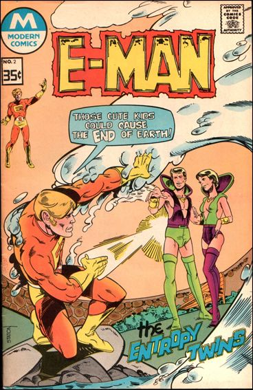 E-Man (1973) 2-B by Charlton