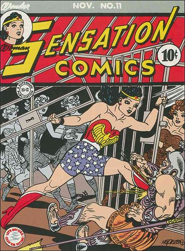 Sensation Comics (1942) 11-A by DC
