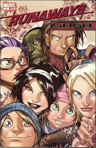Runaways Saga 1-A by Marvel