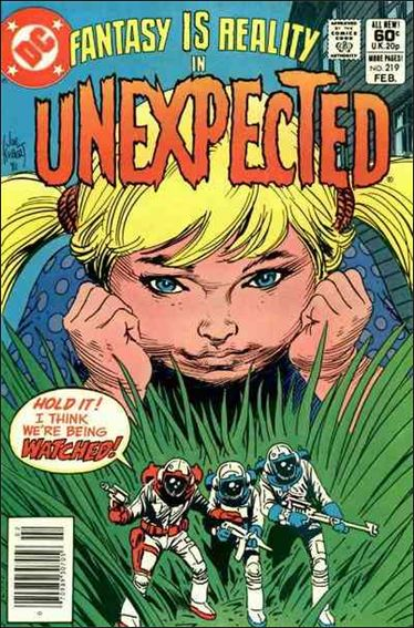 Unexpected (1968) 219-A by DC