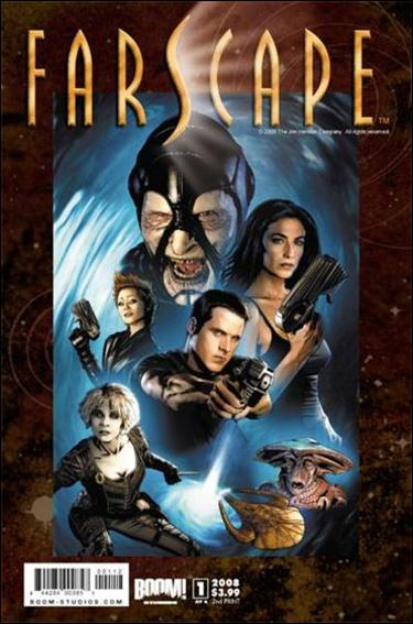 Farscape (2008) 1-F by Boom! Studios