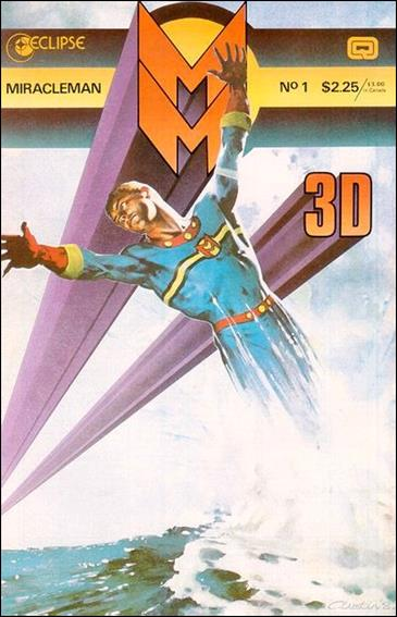 Miracleman 3-D 1-A by Eclipse