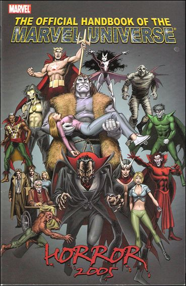 Official Handbook of the Marvel Universe: Horror 2005 nn-A by Marvel