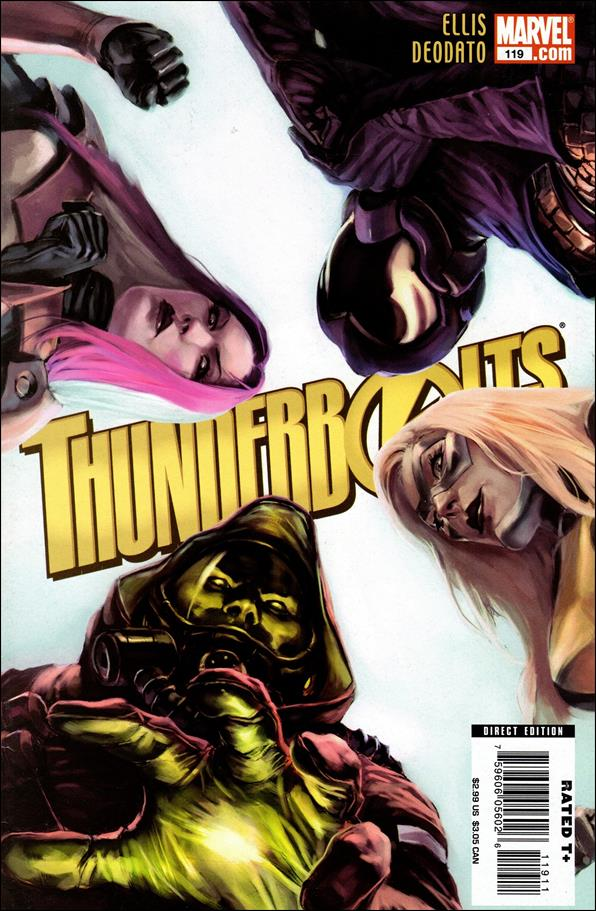 Thunderbolts (1997) 119-A by Marvel