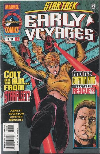 Star Trek: Early Voyages 13-A by Marvel