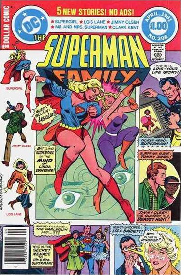 Superman Family 206-A by DC