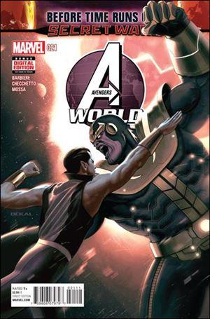 Avengers World 21-A